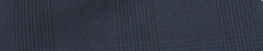 【Mc_6w73】ダークブルーグレーグレンチェック+6×5cmブループレイド