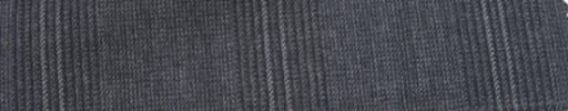 【Mc_6w74】グレーグレンチェック+6×5cmライトグレープレイド
