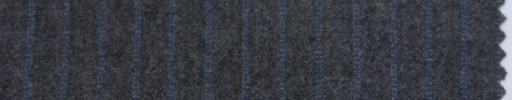 【P_6w01】ミディアムグレー+8ミリ巾ブルーストライプ
