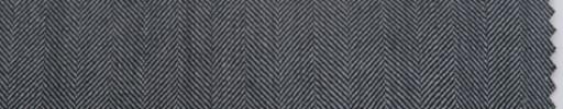 【P_6w25】グレー1.4cm巾ヘリンボーン