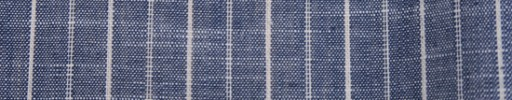 【Brz_61】インディゴブルー+2cm巾交互ストライプ