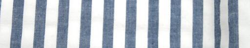 【Brz_64】インディゴブルー×ホワイト4ミリ巾
