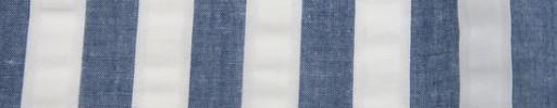 【Brz_66】インディゴブルー×ホワイト1.2cm巾
