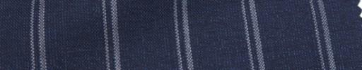 【Ca_7s101】ネイビー+2.5cm巾Wストライプ