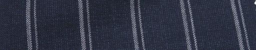 【Ca_7s102】ダークネイビー+2.5cm巾Wストライプ