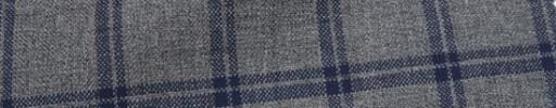 【Ca_7s103】ミディアムグレー+3.5×2.5cmネイビー・グレープレイド
