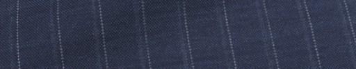 【Ca_7s109】ブルーグレー+1.5cm巾ブルーグレー・ドットストライプ