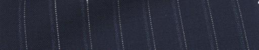 【Ca_7s110】ネイビー+1.5cm巾グレー・ドットストライプ