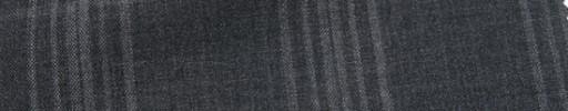 【Ca_7s121】チャコールグレー+7×5.5cmファンシープレイド