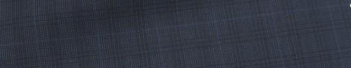【Ca_7s134】ダークブルーグレーファンシーチェック+2.5×2cmウィンドウペーン