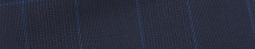 【Ca_7s152】ネイビー黒グレンチェック+7×5.5cmブループレイド