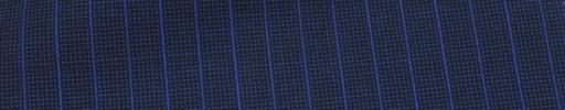 【Ca_7s209】ネイビーピンチェック+7ミリ巾ライトネイビーストライプ