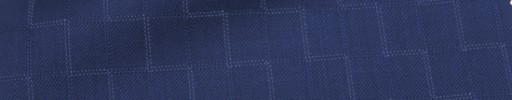 【Ca_7s246】ライトネイビー・1.2×0.9cm織り・白ドットジオメトリー