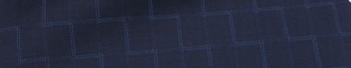 【Ca_7s247】ネイビー・1.2×0.9cm織り・ブルードットジオメトリー