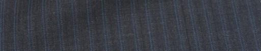 【Ca_7s252】チャコールグレー柄+7ミリ巾ライトブルー・織り交互ストライプ