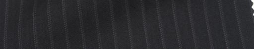 【Cb_Ls02】黒柄+6ミリ巾織り・ドットストライプ