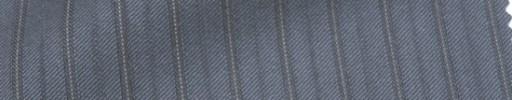 【Cb_Ls14】ブルーグレー+1cm巾織り・ドット交互ストライプ