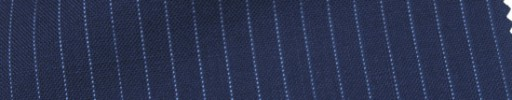 【Cb_Ls27】ライトネイビー+5ミリ巾ライトブルーストライプ