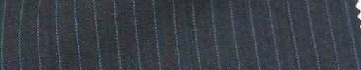 【Cb_Ls28】チャコールグレー+5ミリ巾ライトブルーストライプ