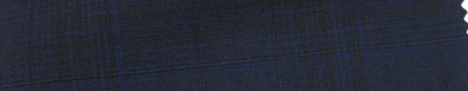 【Cb_Ls29】ネイビーグレンチェック+2×1.7cm織りプレイド