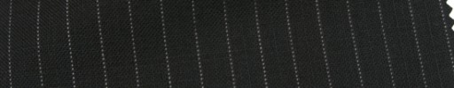 【Cb_Ls35】ブラック+6ミリ巾ドット・織り交互ストライプ
