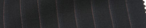 【Cb_Ls86】ブラック+1.2cm巾ピンク・グレードットストライプ