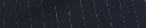【Cu_7s50】ネイビー+1.1cm巾白ドットストライプ