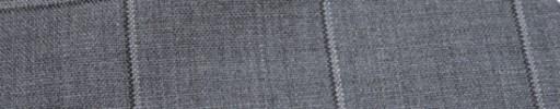 【Hf_a03】ライトグレー+5.5×4.5cm白・黒ウィンドウペーン