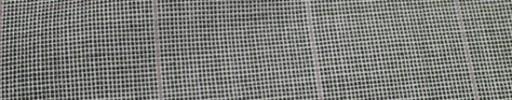 【Hf_a09】ライトグレー・ピンチェック+4.5×4cmウィンドウペーン