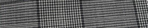 【Hf_a40】白黒10×9cmグレンプレイド