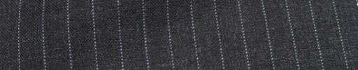 【Hf_a50】チャコールグレー+9ミリ巾ストライプ