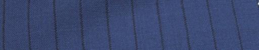 【Hf_a52】ロイヤルブルー+1.2cm巾黒ストライプ