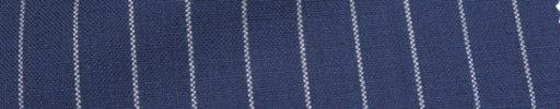 【Hf_a53】ロイヤルブルー+1.2cm巾白ストライプ