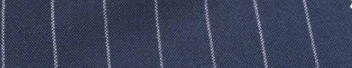 【Hf_a56】ダークスチールブルー+2cm巾白ストライプ