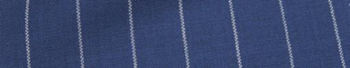 【Hf_a57】ロイヤルブルー+2cm巾白ストライプ