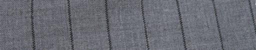 【Hf_a58】ライトグレー+2cm巾グレーストライプ