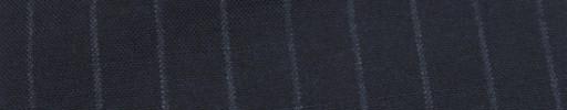 【Hf_a60】ネイビー+1.3cm巾チョークストライプ
