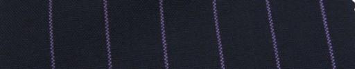 【Hf_a61】ネイビー+2cm巾パープルストライプ