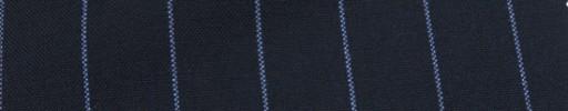【Hf_a62】ネイビー+2cm巾ライトブルーストライプ