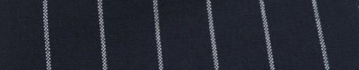 【Hf_a63】ネイビー+2cm巾白太ストライプ