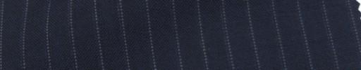【IB_7s005】ネイビー+7ミリ巾織り・ドットストライプ