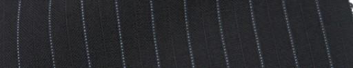 【IB_7s012】ブラック+9ミリ巾織り・ライトブルー交互ストライプ