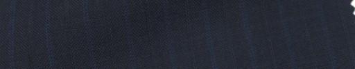 【IB_7s014】ダークネイビー+1cm巾ブルー・織り交互ストライプ