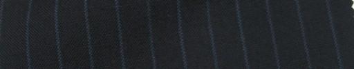 【IB_7s018】ダークネイビー+8ミリ巾ブルーストライプ
