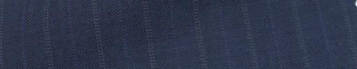 【IB_7s020】ダークブルーグレー柄+1.3cm巾パープル・織り交互ストライプ