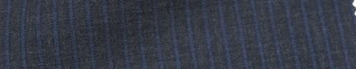 【IB_7s033】ミディアムグレー+4ミリ巾ライトブルーストライプ