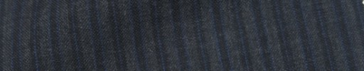 【IB_7s042】ミディアムグレー+3ミリ巾紺ブルーストライプ