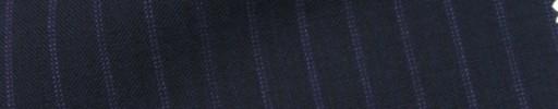 【IB_7s045】ネイビー+7ミリ巾パープルWドットストライプ