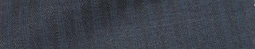 【IB_7s054】チャコールグレー柄+6ミリ巾ブルーストライプ