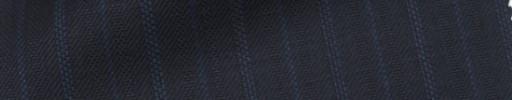 【IB_7s055】ダークネイビー柄+1.7cm巾ブルー・ドット交互ストライプ